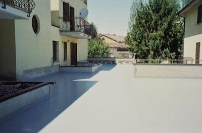 Guaine calpestabili impermeabilizzanti per balconi fibra - Impermeabilizzazione terrazzi esistenti ...
